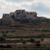 Migdal Tzedek - view from Kibbutz Einat, Рош-ха-Аин