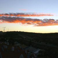 Sunup in Ariel, Samaria, Ариэль