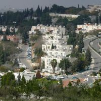 Ariel, a capital of Shomron (07-FEB-09), Ариэль