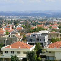 A view from HaHumash 3, Hod Hasharon (07-JAN-11), Од-а Шарон