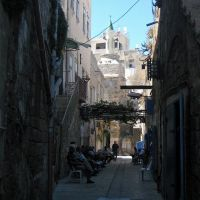 A small lane, Акко (порт)