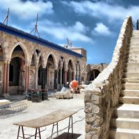 "Old Akko, ""Zauiyya"" (place of assembly) ,Center of the Sufi Order of Shadhili(in renovation), Акко (порт)"