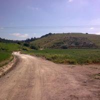 רוכב ישראל-עליה לכיוון הפסל של אלכסנדר זייד, Кирьят-Тивон