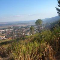 Kiriat Shmona from Ramot Naftali, Кирьят-Шмона