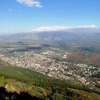 KIRYAT SHMONA FROM THE SKY, Кирьят-Шмона