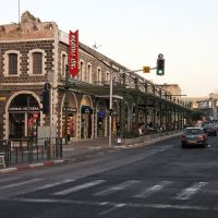 Main street in Tiberias, Тверия