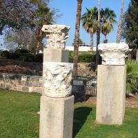 Tiberias on Sea of Galilee, the piecies of antiquity  כנרת,טבריה, Тверия