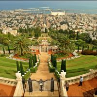 Bahai Garden - Mount Carmel - Haifa,  UNESCO  world heritage - Israel - [By Stathis Chionidis], Хайфа