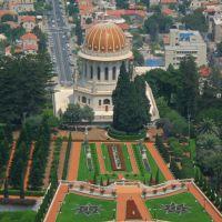 Haifa Jardines Bahai desde Monte Carmelo II, Хайфа