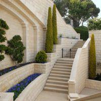 Underground passage in Bahai gardens., Хайфа