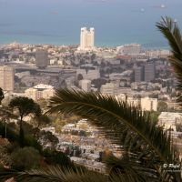 Haifa viewed from Mt. Carmel,  UNESCO World Heritage Site, Хайфа