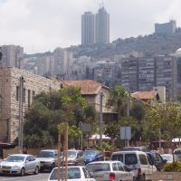 Haifa, German Colony, View to Mount Carmel, Хайфа