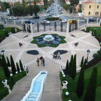Bahai gardens, Хайфа