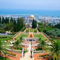 Bahai garden`s, Haifa, Israel, Хайфа