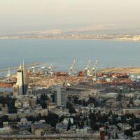 Haifa panorama 2, Хайфа