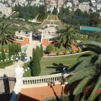 Bahai Gardens /HAIFA, Хайфа