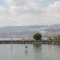 View of Tiberias / Výhled na Tiberias, Мигдаль аЭмек