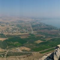 Migdal village and the Sea of ​​Galilee (Panorama), Мигдаль аЭмек