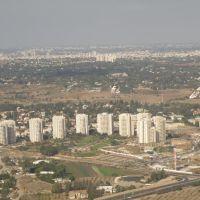 Aerial photo of Tel Aviv / Letecký snímek Tel Avivu, Бат-Ям