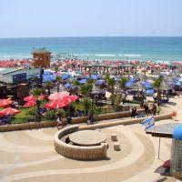 Israel. Rishon LeZion beach promenade, Бат-Ям