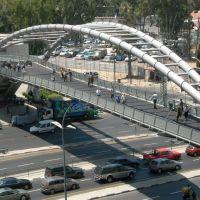 Azrieli bridge, Гиватаим