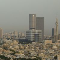 Tel Aviv Skyline by Angel Jimenez, Рамат-Ган
