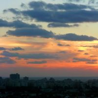 Sundown from TAU, Tel Aviv (06-JAN-08), Тель-Авив