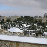 Winter in Jerusalem (view from Yemin Moshe), Иерусалим