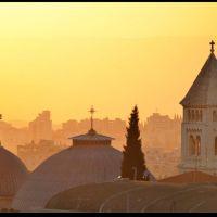 Lalba sulla città vecchia, Gerusalemme, Иерусалим