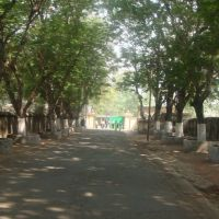 St. Patricks School Driveway in Asansol India, Асансол