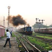 At Pilibhit Railway Station, Балли