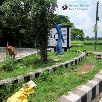 Usthi Hatuganj Crossing. Usthi. 22-07-2014, Бхатпара