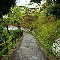 Windamere Hotelの裏道, Даржилинг