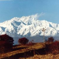 Kanchenjunga from Darjeeling, Даржилинг