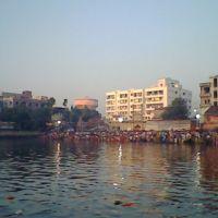 Chhat Puja at Durga(Dhobia) Pukur, Дум-Дум