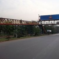 Pedestrian Over Bridge n ear Dum Dum Park  - Kazi Nazrul Islam Avenue/ VIP Road  2130, Дум-Дум
