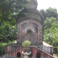Shiv Mandir at Bara mandir ghat, Камархати