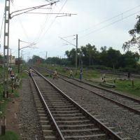 Railway Tracks, Krishna Nagar City Junction, Кришнанагар