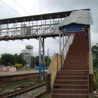 Foot Over Bridge, Krishna Nagar City Junction, Кришнанагар