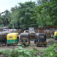 Auto Rickshaw Stand, Krishna Nagar City JN Rly Station, Кришнанагар
