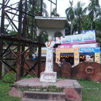 Statue of Father of the Nation, Khounis Park, Beledanga, Krishna Nagar, Кришнанагар