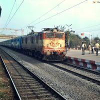 Itarsi (ET) WAM-46P #20659 with Supercrawler 18237 Chhattisgarh Express, Бхилаи
