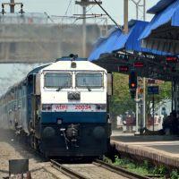 The New Locomotive Link For Wainganga Express, Бхилаи