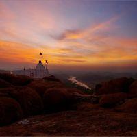 sunrise at Hanuman Temple, Давангер