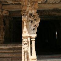 Carved Pillar, Someshwara Temple, Колар Голд Филдс