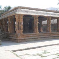 Kalyana Mantapa (Wedding hall) inside the Someshwara temple., Колар Голд Филдс