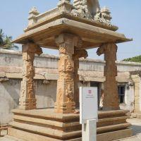 Vasantha Mantapa (Marriage Podium) inside the Someshwara temple complex., Колар Голд Филдс