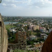Top View of Raichur, Раичур