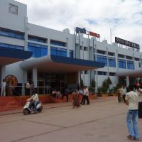 Front look of Hubli Railway station, Хубли