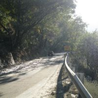 Road leading to Simli, Karanprayag, Дехра Дун